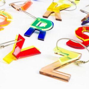 ABC Key Chains